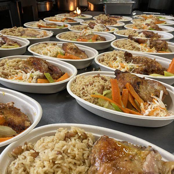 Serving Meals To Hospitals